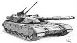 帅气十足的坦克