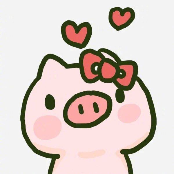 猪简笔画图片大全可爱,可爱的猪怎么画简笔画