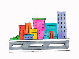 城市怎么画?