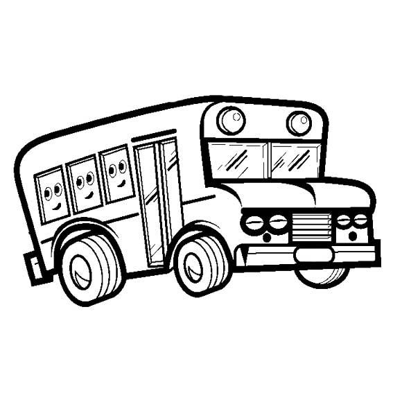 簡筆畫 交通工具簡筆畫 校車卡通簡筆畫    我上小學了,因為學校離家