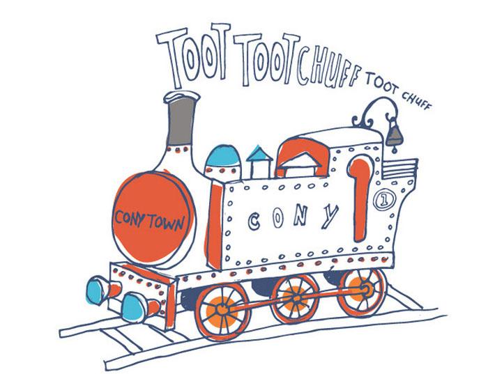 幼儿简笔画交通工具,小火车简笔画彩色