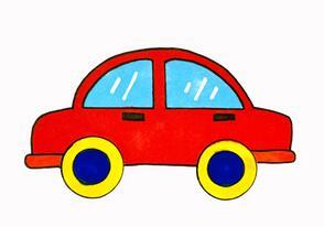 儿童怎样画汽车?
