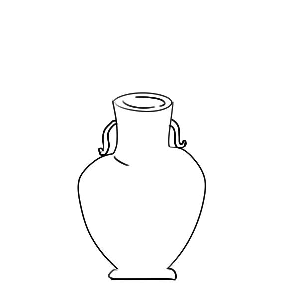美术课上的花瓶怎么画? 画花瓶
