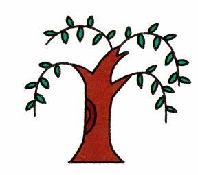 柳树的简笔画画法步骤图解