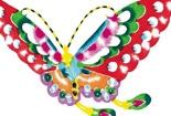 彩色的蝴蝶