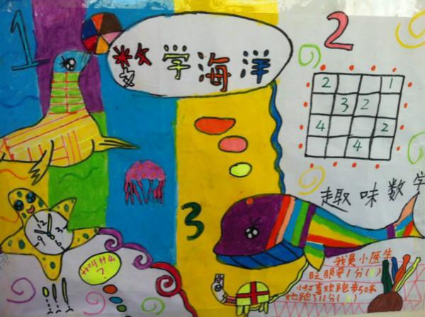 小学生数学手抄报内容,数学海洋