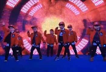 少儿街舞《冬天里的一把火》男生舞蹈