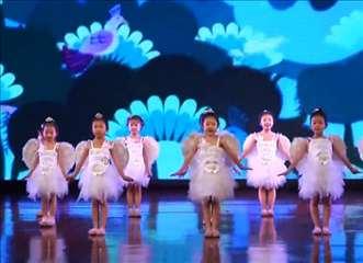 舞乐坊少儿舞蹈视频《虫儿飞》女生舞蹈