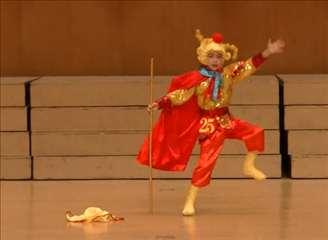 幼儿精品舞蹈《金猴纳祥》