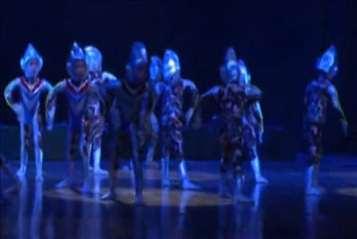 幼儿舞蹈《大班的奥特曼》男生舞蹈