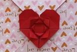 爱心信封折纸图解分享