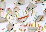 怎样折叠心形折纸教程