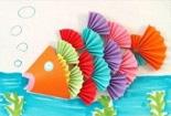 可爱小鱼和美丽蝴蝶