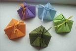 圣诞礼盒的折法